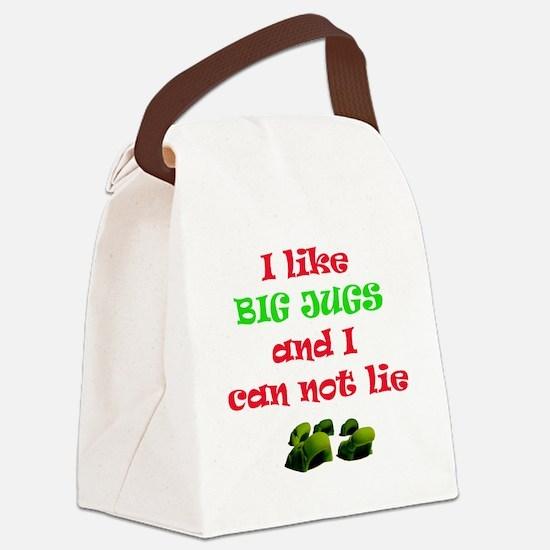 big jugs.gif Canvas Lunch Bag