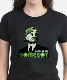 2-mises_is_my_homeboy Tee