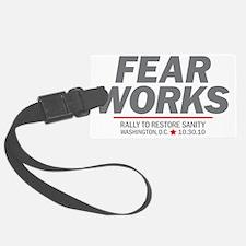 Fear Works Luggage Tag