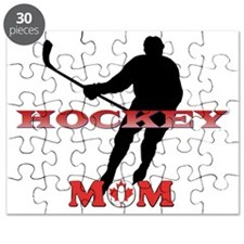 Hockey Mom Canada Puzzle
