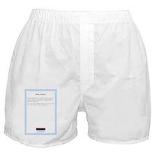 PianoSonata1BackCover Boxer Shorts