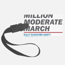 Million Moderate March Luggage Tag