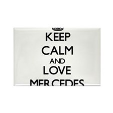 Keep Calm and Love Mercedes Magnets