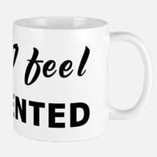 Today I feel tormented Mug
