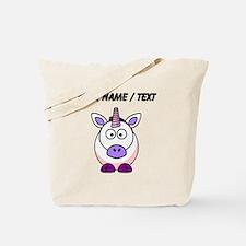 Custom Cartoon Unicorn Tote Bag