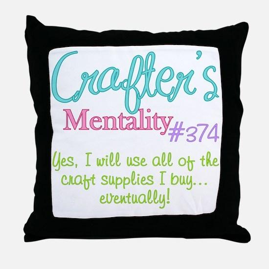 374-craft Throw Pillow
