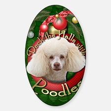 DeckHalls_Poodles Decal
