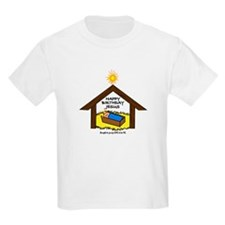 BABY JESUS IN THE MANGER T-Shirt