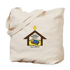 BABY JESUS IN THE MANGER Tote Bag