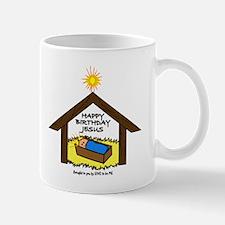 BABY JESUS IN THE MANGER Mug