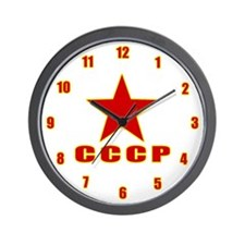 Soviet Union Wall Clock