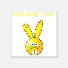 Custom Yellow Bunny Sticker