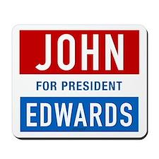 John Edwards Classic Mousepad