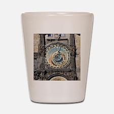 astronomical clock Shot Glass