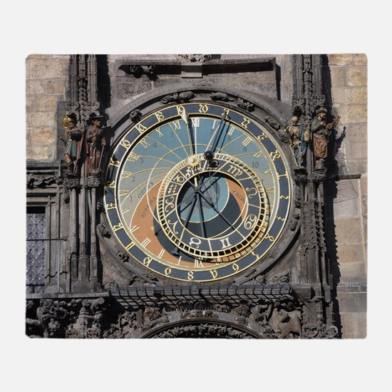 astronomical clock Throw Blanket