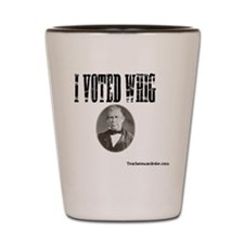 I Voted Whig Shot Glass