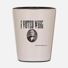 I Voted Whig Shot Glass