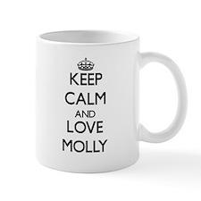 Keep Calm and Love Molly Mugs