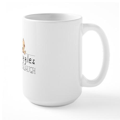 tiny giggles 1 Large Mug