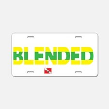 2-Dive-Blended Aluminum License Plate