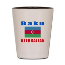 Baku Azerbaijan Designs Shot Glass