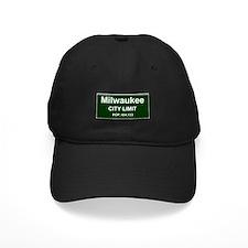 CITY LIMIT - MILWAUKEE, POPULATION Baseball Hat