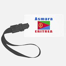 Asmara Eritrea Designs Luggage Tag