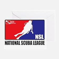 3-National-Scuba-League Greeting Card