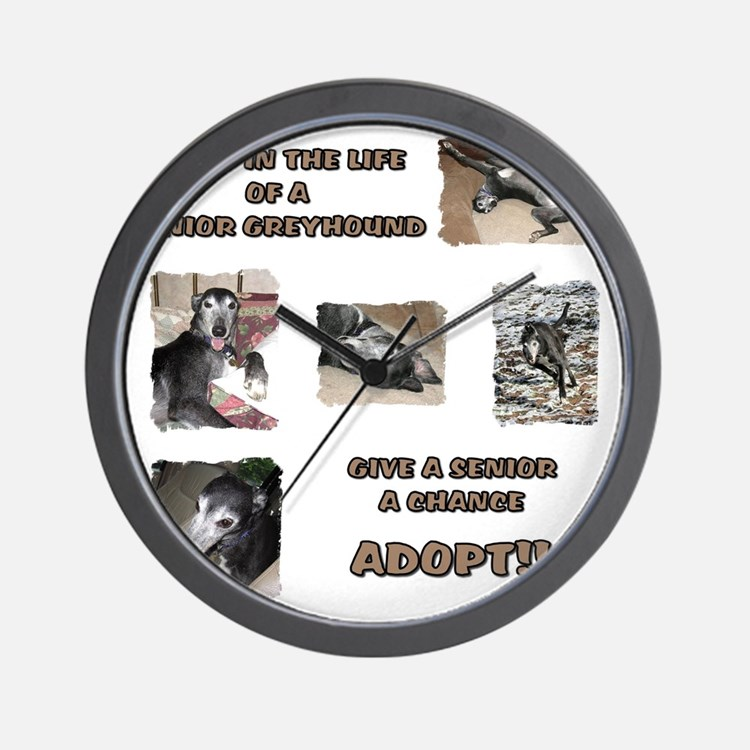 A Day in the Life Wall Clock