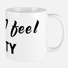 Today I feel testy Mug