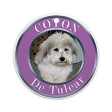 COTON2010 copy Round Ornament