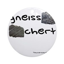 Gneiss Chert Round Ornament