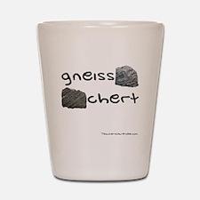 Gneiss Chert Shot Glass
