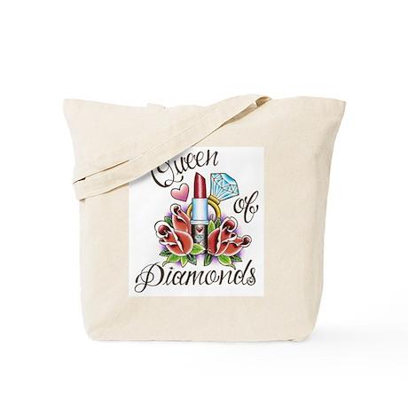 """""""Queen of Diamonds"""" Tote Bag"""
