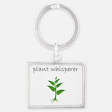 plant whisperer.bmp Keychains