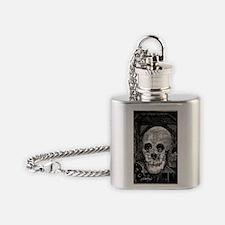 skullbabyoriginal 001 copy Flask Necklace
