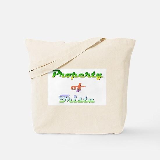 Property Of Trista Female Tote Bag
