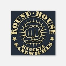 "2-round-house-CRD Square Sticker 3"" x 3"""