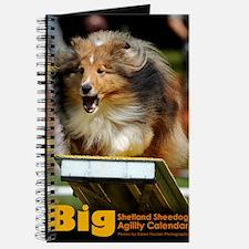 Shetland Sheepdog Agility Calendar Journal