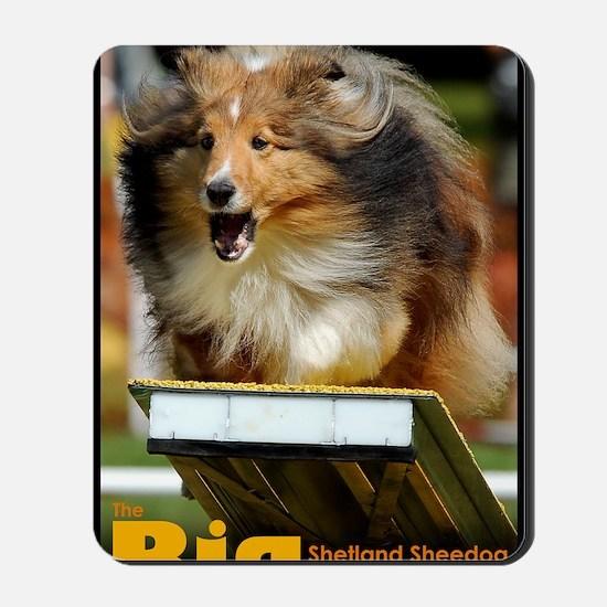 Shetland Sheepdog Agility Calendar Mousepad