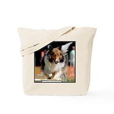 Shetland Sheedog Agility Beau Tote Bag