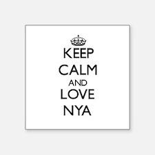 Keep Calm and Love Nya Sticker