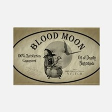 BloodMoon5x3oval_sticker copy Rectangle Magnet