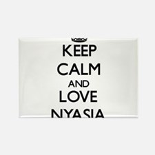 Keep Calm and Love Nyasia Magnets