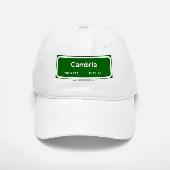 Cambria Baseball Baseball Cap