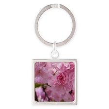 cherry blossom 2 Square Keychain