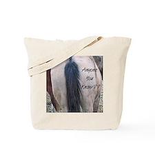 Horses Ass Tote Bag