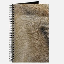 wolf fur print Journal