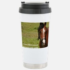 No Hour Wasted Stainless Steel Travel Mug