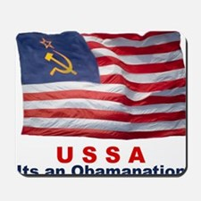 USSA-Obamanation Mousepad
